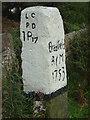 SK2694 : Bradfield Marker Stone - Handsome Cross by Alan Murray-Rust