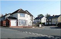 SO9096 : The corner of Rycroft Avenue, Penn, Wolverhampton by Roger  Kidd