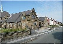 SJ3199 : Church hall, Harlech Road, Blundellsands by Humphrey Bolton