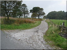 SK2077 : Another Footpath - View from junction with Sir William Hill Road by Alan Heardman