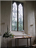 NZ2237 : New window in St Brandon's by Stephen Craven