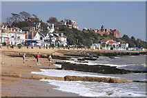 TM3034 : Beach at Felixstowe by Bob Jones