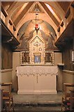 TQ3480 : St Peter's London Docks, Wapping Lane - Chapel of Our Lady of Walsingham by John Salmon