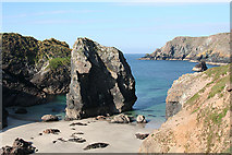 SW6813 : Landewednack: The Bellows, Kynance Cove by Martin Bodman