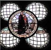 TQ3480 : St Peter's London Docks, Wapping Lane - Window of Fr. Lowder by John Salmon