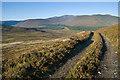 NO3287 : Track over Cul nan Gad by Nigel Corby