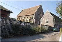 TR1557 : The Chapel & Dormitories, Kings School, Canterbury by N Chadwick