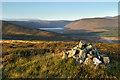 NO3287 : On the summit of Cul nan Gad by Nigel Corby