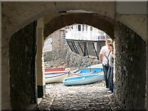 SS3124 : Archway, Clovelly by Derek Harper