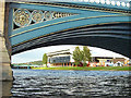 SK5838 : Trent Bridge, River Trent and The City Ground by Alan Murray-Rust