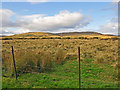 NN9731 : Moorland and Fence by Dr Richard Murray