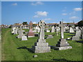 SW6226 : Porthleven cemetery by Rod Allday