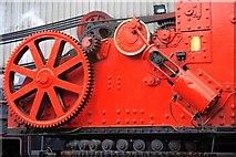 NZ8204 : Close up of a Steam Crane by Mick Garratt