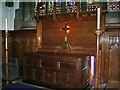 SE0426 : The Parish Church of St Mary's Luddenden, Altar by Alexander P Kapp