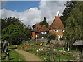 TQ6741 : Town Farm Oast, High Street, Brenchley, Kent by Oast House Archive