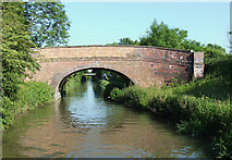 SP4678 : Bridge No 38, Oxford Canal east of Brinklow, Warwickshire by Roger  Kidd