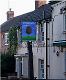 SO8171 : The Hollybush pub sign, 54 Mitton Street by P L Chadwick