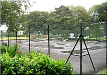 SE0423 : Sowerby Tennis & Bowls Club - St Peter's Avenue by Betty Longbottom