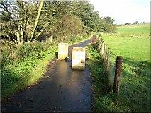 NY6565 : Cycle path near Greenhead by Oliver Dixon