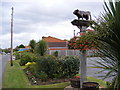 TQ6485 : Bulphan Village Sign by Adrian Cable