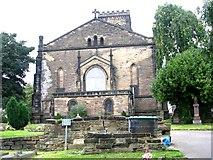 SE3121 : East End of St Paul's Church - St Paul's Drive, Wrenthorpe by Betty Longbottom