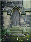 SD8033 : All Saints with St John the Baptist Church, Burnley, Doorway by Alexander P Kapp