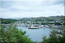 NM8529 : Oban Bay from Pulpit Hill by Sarah Charlesworth