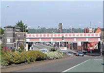 SP0889 : Railway bridge over Lichfield Road, Aston by Roger  Kidd
