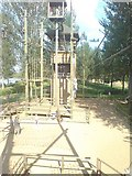 SP8739 : Aerial Extreme High Rope Adventure by Bucks Beds War and Northants Travel and Adventure Group