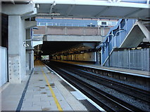 TQ1885 : Wembley Central station, platforms by Oxyman