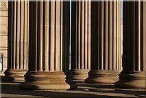 SJ3490 : Columns on the portico by Alan Murray-Rust