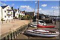TM0321 : Boats at Wivenhoe Old Quay by Bob Jones